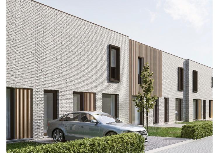 Vastgoed Unicum -     Eeklo, Eengezinswoning             - Centraal gelegen moderne nieuwbouwwoning met ruime tuin, 3 slpk en carport*