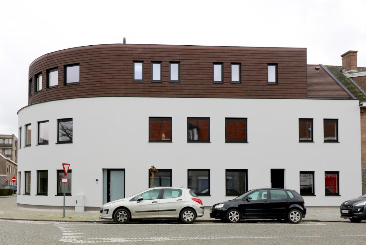 Vastgoed Unicum -             Residentie Céline - Charmante appartementen in knap architecturaal concept