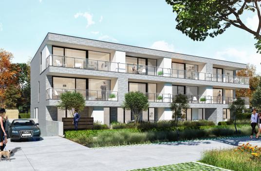 Vastgoed Unicum -             Residentie Obéron, Uniek woonproject met 12 appartementen.